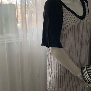 Baseball vibe dress